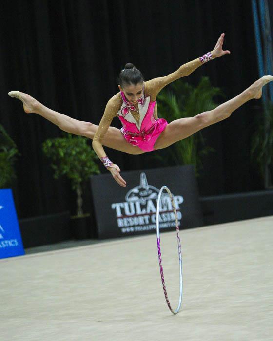 USA National Team Member, Julia Garbuz