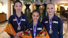 Erica Foster wins TEAM GOLD at Junior Pan American Championships