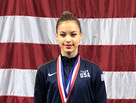 Erica Foster wins BRONZE in Hoop and Clubs and makes USA NATIONAL TEAM once again