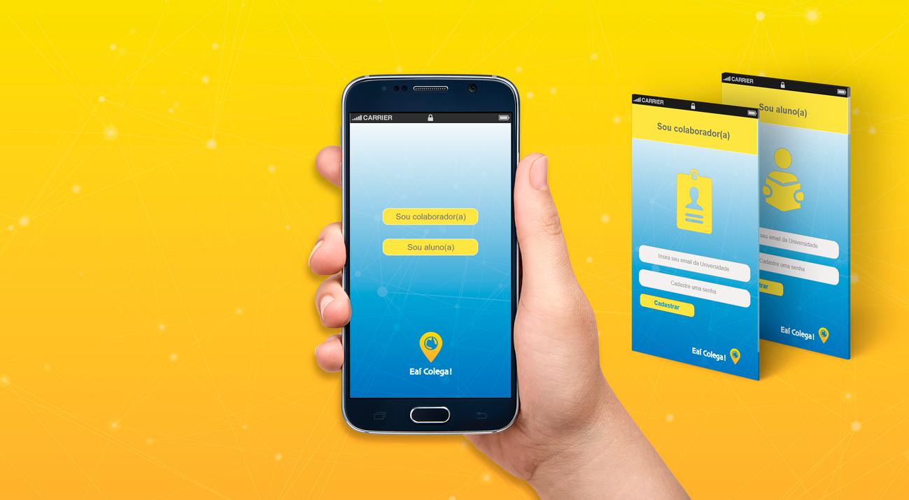 Layout Tela Entrada App