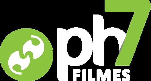 Logo Ph7 Filmes - Branco.png