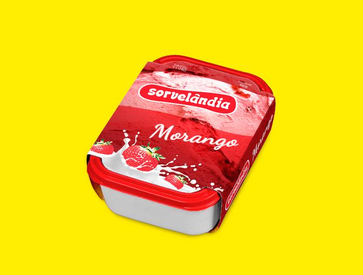 Embalagem Sorvete 1L