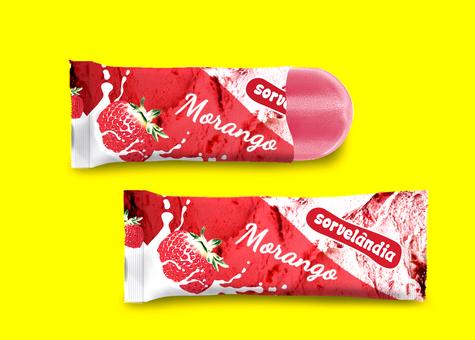Embalagem Picolé Sorvelândia