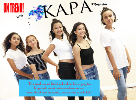 On Trend with KAPA Magazine-
