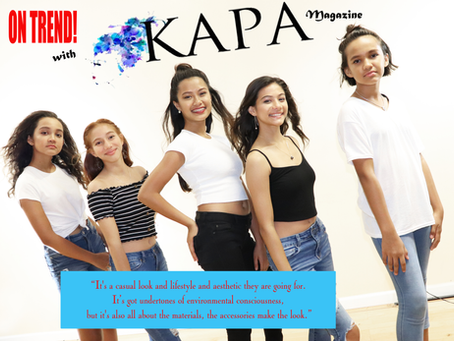 On Trend with KAPA Magazine-