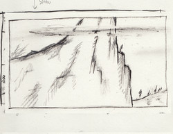 sketch_mountain_top