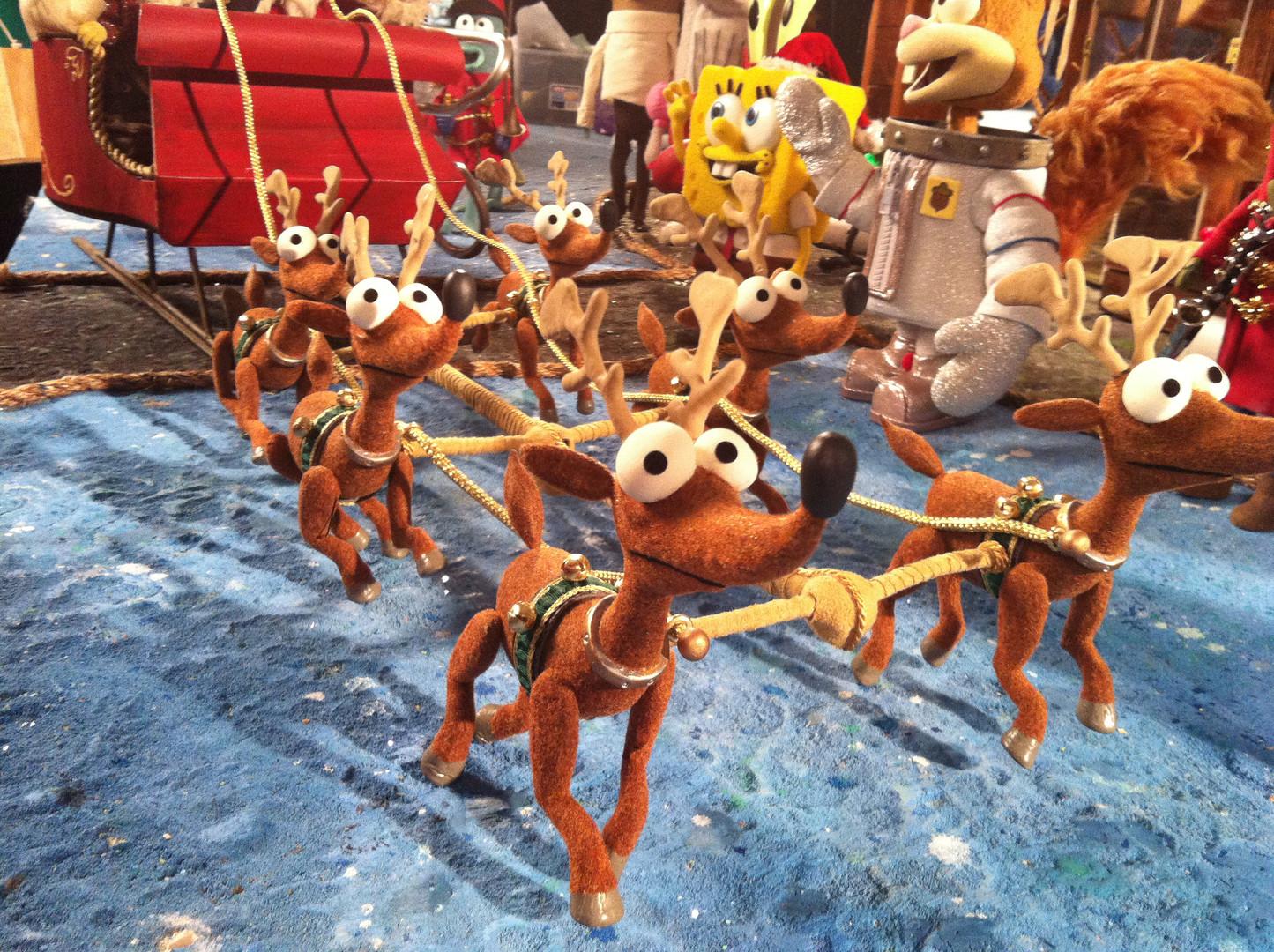 Reindeers - It's A Spongebob Christmas
