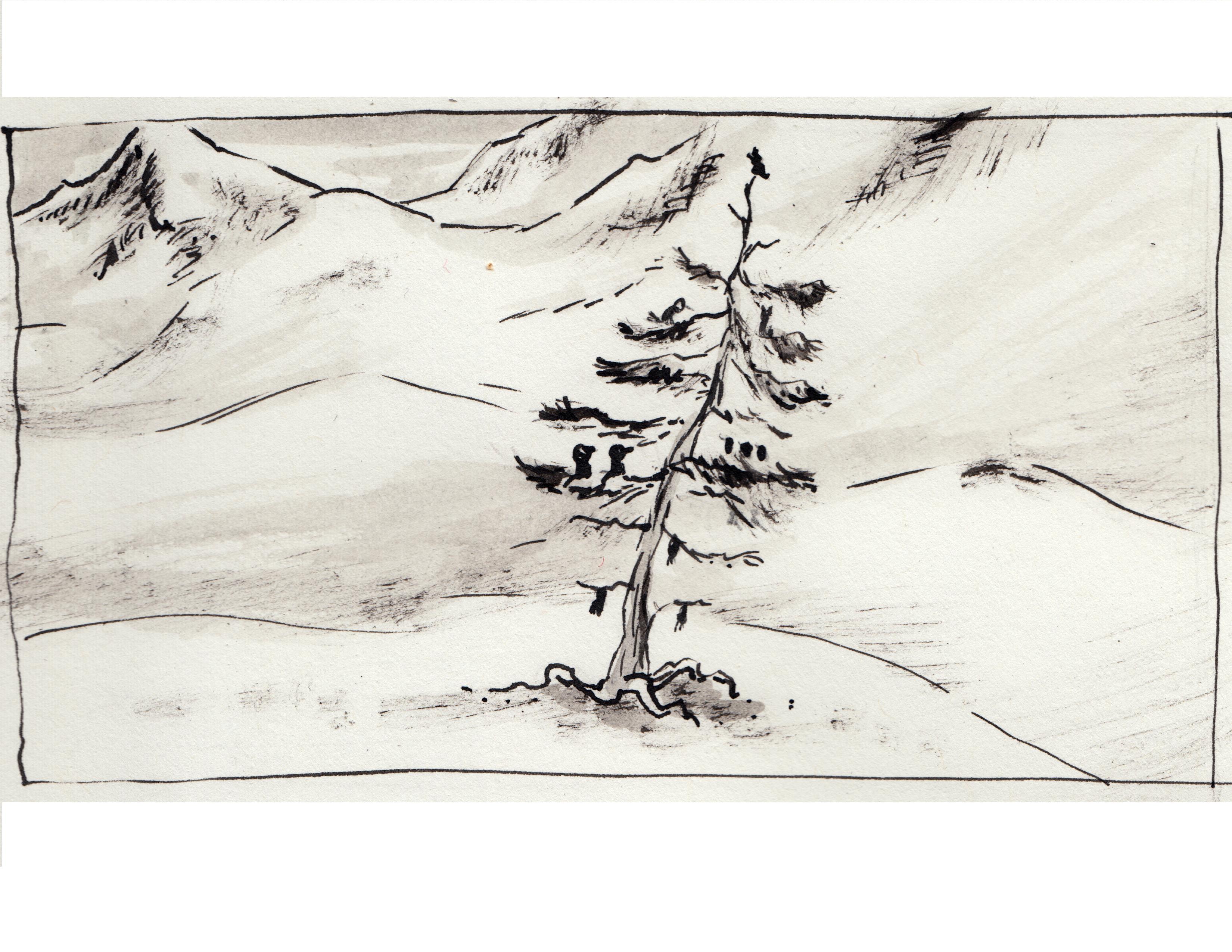 sketch_snow