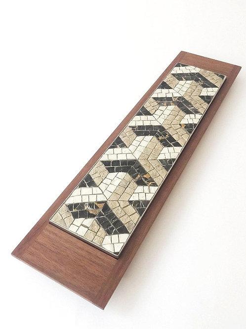 Mosaici Plate Y-ipsilon - black