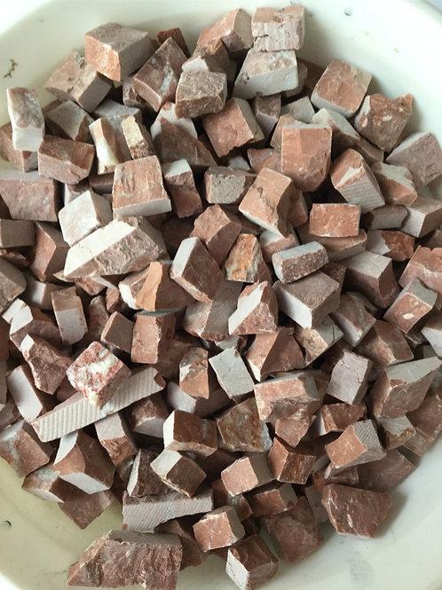 赤茶系割れ石mix