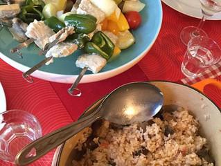 Tray&TableWorkshop Lunch menu 8月