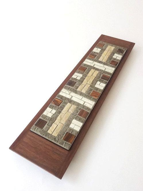 Mosaici Plate H-akka - brown