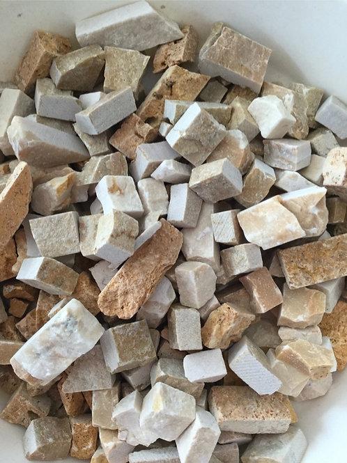 イエロー系割れ石mix