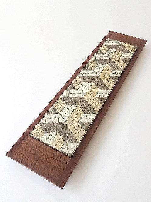 Mosaici Plate Y-ipsilon - greige