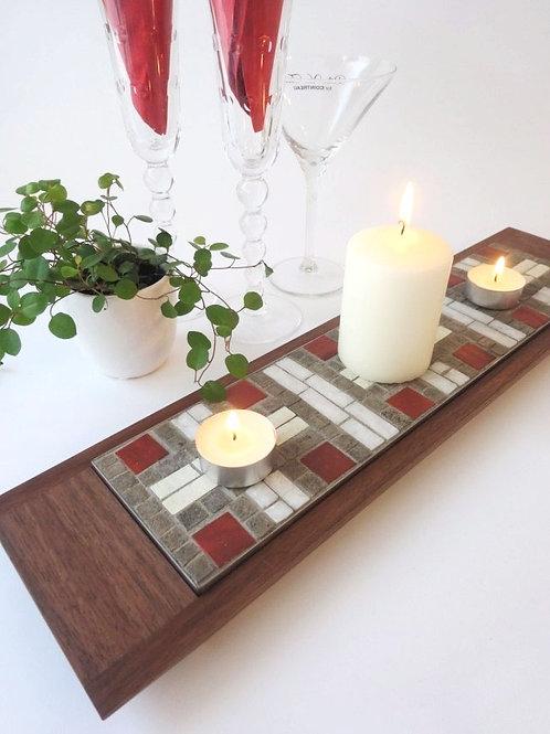 Mosaici Plate H-akka - red