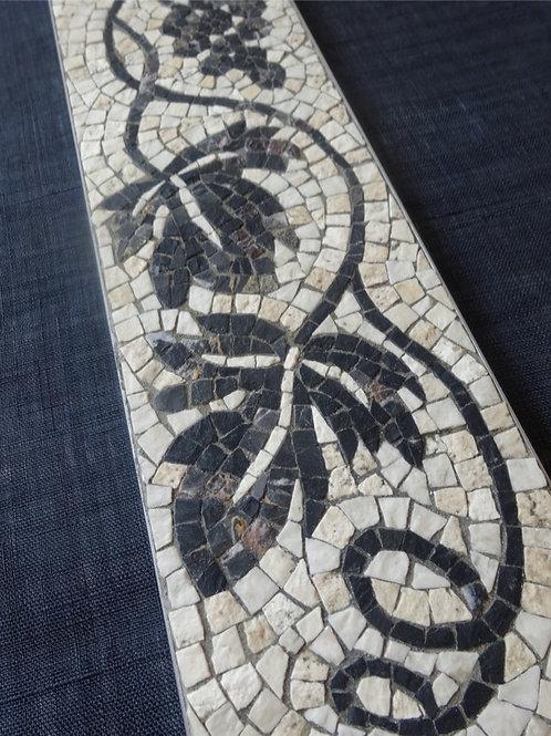 Roman Mosaic Plate 葡萄唐草