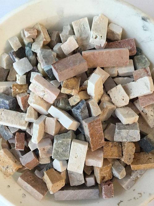 ミックスカラー割れ石mix