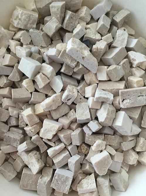 アイボリー系割れ石mix
