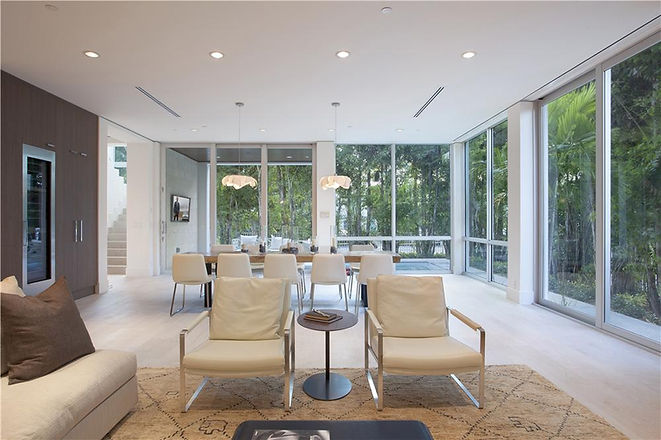 Moden Lving, Open Space, Formal Dining, Casual Living