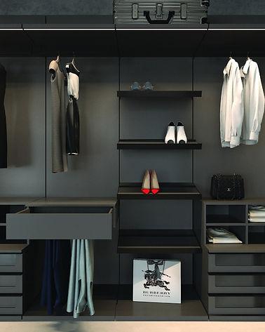 Closet Organization, Drawers
