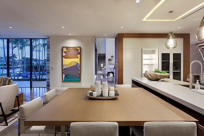 Eat in Kitchen, Concealed Appliances, Dining, Built in