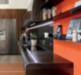 Kitchen Steel Countertop