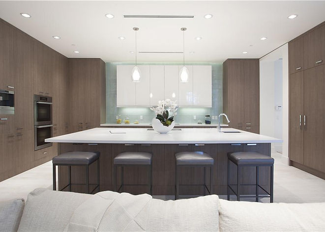 Open Kitchen, Modern Furniture, Casa Mia Kitches, Moder Lighting, Appliance with panels, Built in Oven