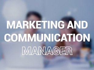 01 Marketing and Communication Manager