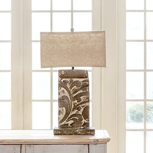 Floral Architecture Relief Lamp