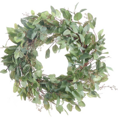 "Eucalyptus Wreath 24"""