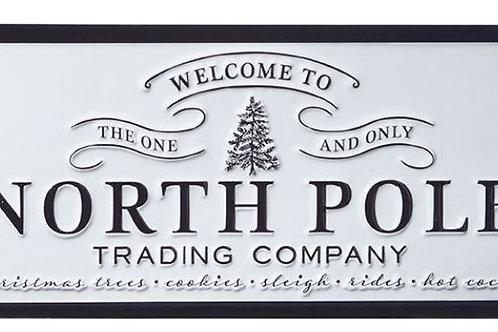 "North Pole Wall Art 16"""