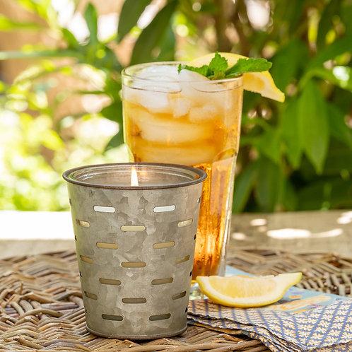 Sweet Tea, Olive Bucket Candle