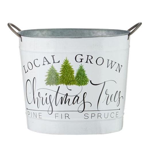 "Local Grown Handled Bucket 14"""