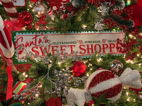 """Santa's Sweet Shoppe Wall Art 24"""""""