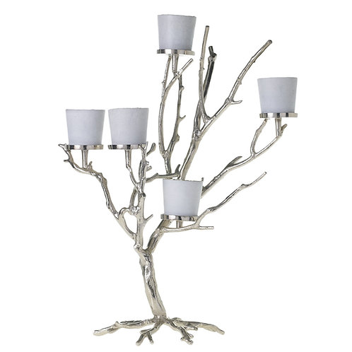 "Wildwood Tree, Silver 23.75"" x 32"""