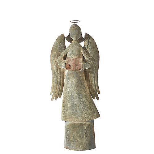 "Galvanized Angel 46.5"""