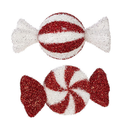 """Peppermint Candy Ornament 13"""""""