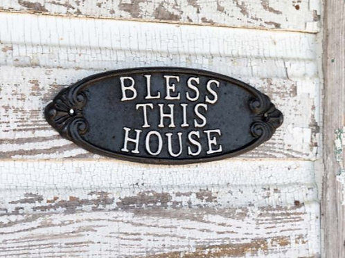 Cast Iron Bless This House