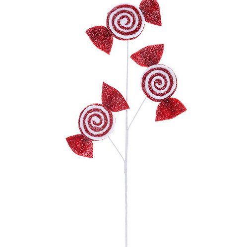 "Peppermint Candy Spray 28"""