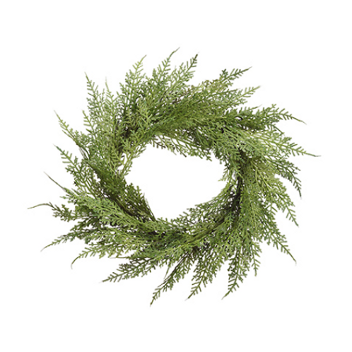 "Cedar Wreath 12"""
