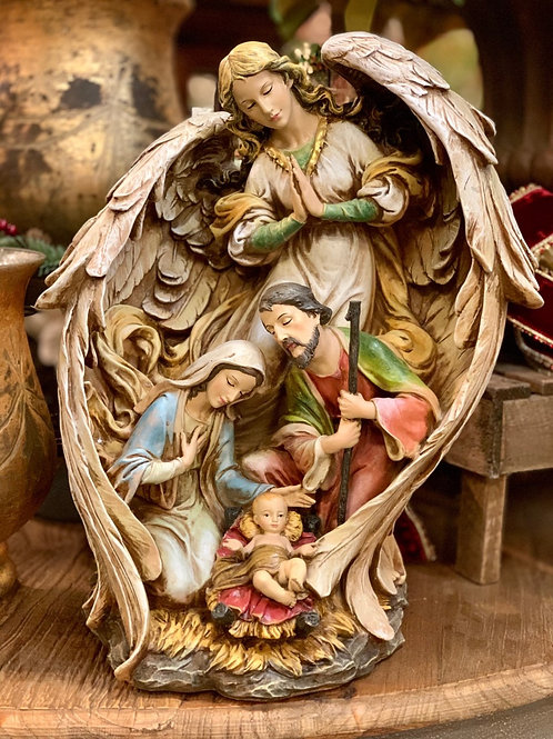 """Guardian Angel/Holy Family 19.5"""""""