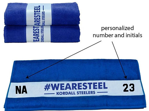 TOWEL #WEARESTEEL