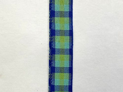 """Classica Chex, Blue 5/8""""x10YDS"""