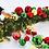 Thumbnail: Red, Green, and Gold Ball Garland 4'