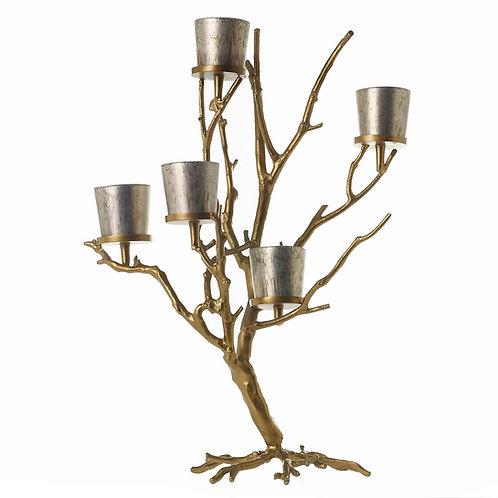 "Wildwood Tree, Gold 23.75"" x 32"""