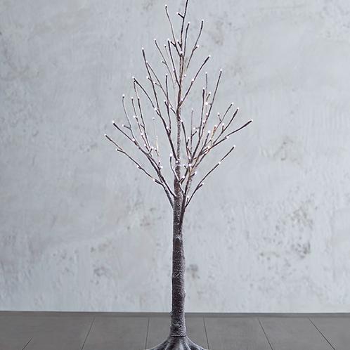 Lighted Snowy Tree 3.5'