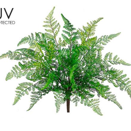 """UV Leather Fern Bush 17""""GR"""
