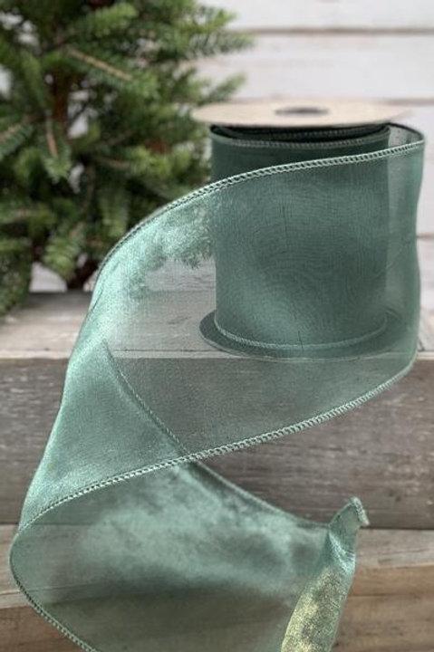 """Tissue Silk Celadon 4""""x10YDS"""