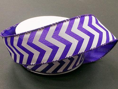 "Chevron, Purple White 1.5""x25YDS $13.90"