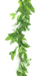Lemon Leaves Garland 75""